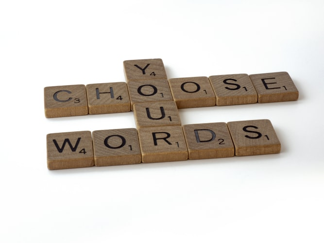 Choose Words with Intention    .                  by Gregory A. Kompes